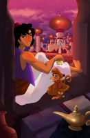 A is for Aladdin by ArtCrawl