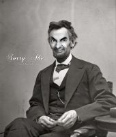 Sorry Abe. by chinochocobo