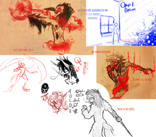 Sketchdump 003 by Rhavencroft