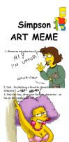 Simpsons meme by uppuN