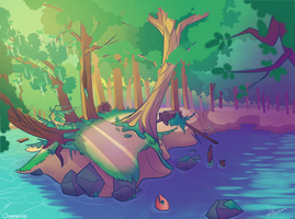 Riverbank by Choppywings
