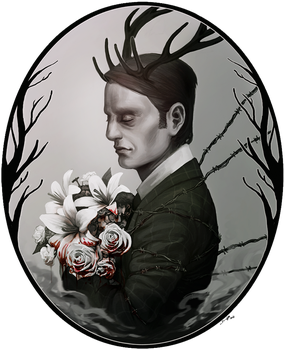 NBCHannibal: The beast by Denimecho