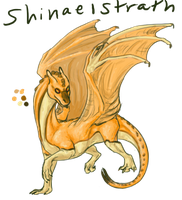 Shinaelstrath: Gold Pern Baby by JadeRavenwing