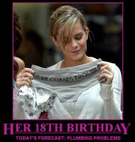 Emma Watson's 18th Birthday by niboswald