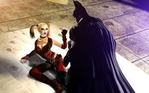 Let me go Batman by Gomios13