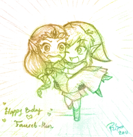 Happy Birthday Faucet-Kun by firehorse6