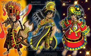 Celestial Gods (Philippine Mythology) by alceoftheart