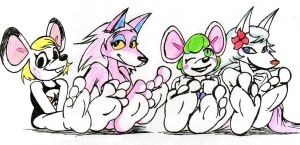 Mices, Wolves and Soles by RBM-Ink