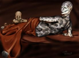 mother and child by CrazyScarlet