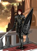 Nino in Anor Londo by Charleian
