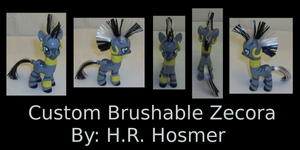 Custom Zecora Brushable by Gryphyn-Bloodheart