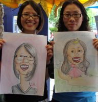 Caricatures 1 by DeesDilemma