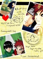 Gaara's Diary by DarkSahdow