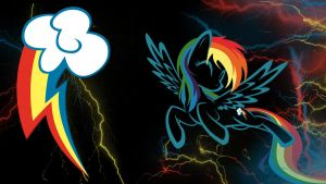 Rainbow Dash Wallpaper by thaBIGDADDY5