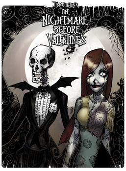 the Nightmare Before Valentines (color) by lroyburch
