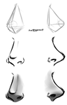 Nose Drawing Tutorial by prpldragon