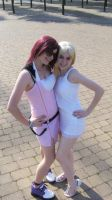 Kairi + Namine are such Posers by OrgXIII-Namine