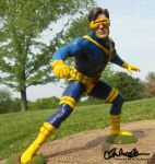 Cyclops Model Kit by thatg33kgirl