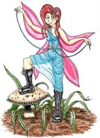 Fairy In Combat Boots by DJ-Erock