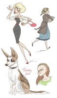 More Doodles by trufflefunk