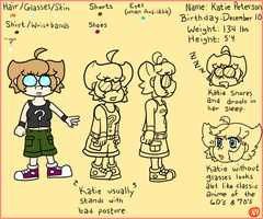 Katie Character Sheet by GoSkyKid