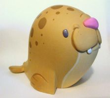 Timmy the Seal by Okkle by RivetGallery
