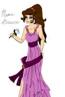 Mama Greece as Megara by AskMamaGreece