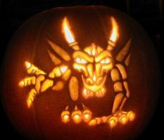 Dragon Pumpkin Carving by nudge1