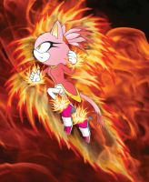 burning blaze color by Dark93C