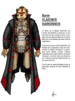 Baron Vladimir Harkonnen - 1 by A-Fornerot