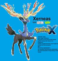 Xerneas' type (i think it is) and Pokedex entry by shadmart