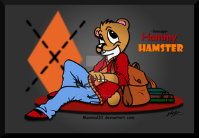 Teenage  Hammy by Mammal33