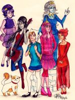 Adventure Time: Girl Power by seanfarislover