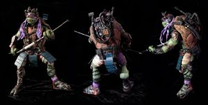 Teenage Mutant Ninja Turtle 2k14 Donatello repaint by clefchan