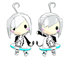 MMD-Chibi Piko Download by Shioku-990