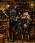 SiLVER KiMBER and Dynoman by Candra