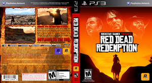 Red Dead Redemption Game Cover by FajitaPitaGuy