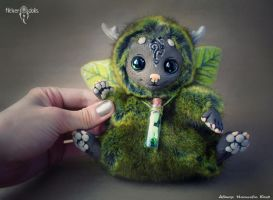 OOAK. Wood spirit Mossy by Flicker-Dolls