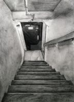 Stairwell at Reynolds by cleverquandary