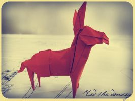 Red the Donkey by alejandro-delafuente