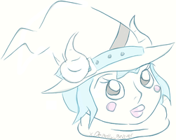 Head Shot - Witch by Boo-tastic