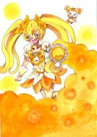 .:Cure Sunshine and Potpourri:. by luigipony