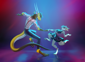 Boogie-Woogie Dance! by Kristall004