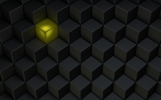 Isometric Cubes by ATSkill