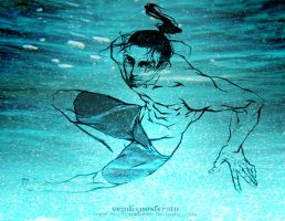 Jetstream Sam in Free! Iwatobi Swim Club by vendixnosferatu