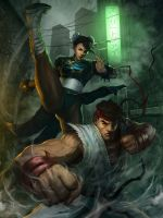 HAdouken by angel5art