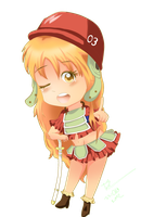 One Piece Film Z chibi - Nami by SuperMuffin92