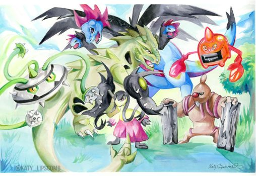 Pokemon Team by Lucky978