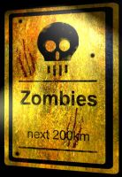 Zombies ahead by Alphonse007