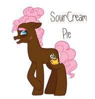 SourCream Pie by Microwaved-Box